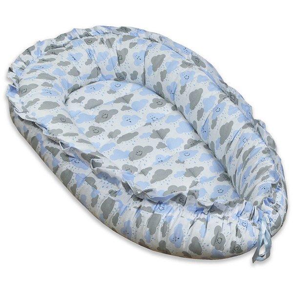 Ninho Redutor para Bebê - Chuva de Benção Azul