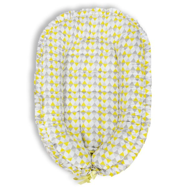 Ninho Redutor para Bebê - Losango Amarelo