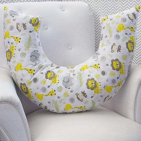 Almofada Amamentação - Safari Amarelo