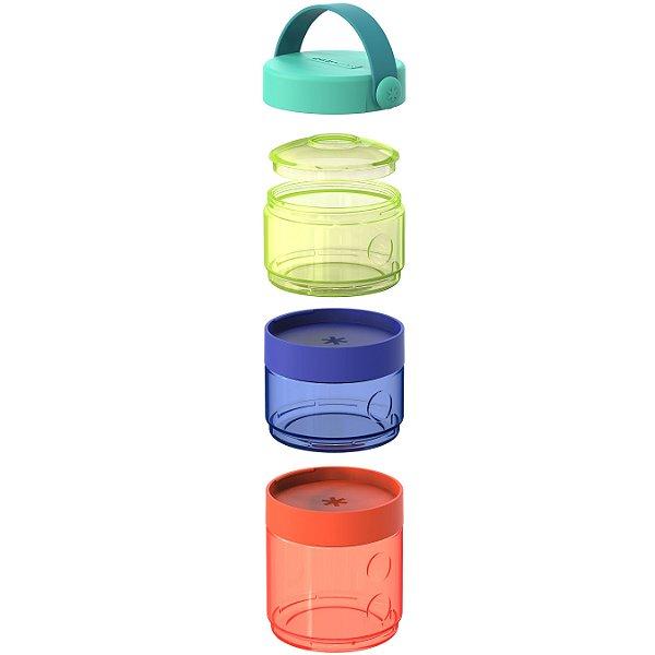 Conjunto 3 Potes Para Alimentos Food Storage Tower Skip Hop