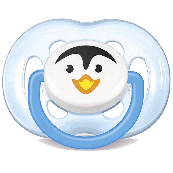 Chupeta Freeflow 6 à 18m Pinguim Philips Avent