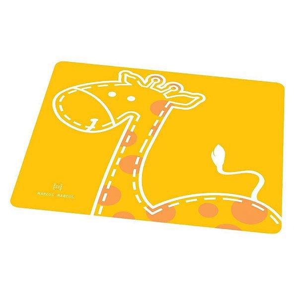 Jogo Americano de Silicone Infantil Girafa Marcus & Marcus
