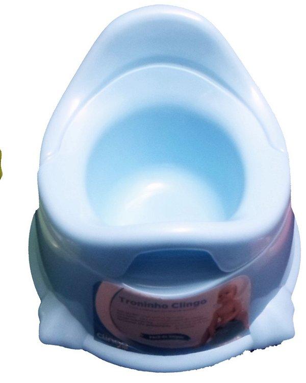 Troninho Infantil Potty Azul Clingo