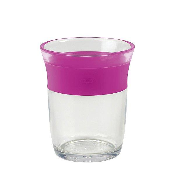 Copo Plástico Infantil 150ml Rosa OXO TOT
