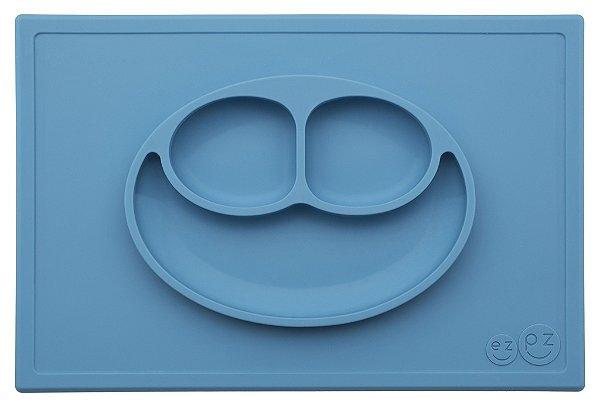 Jogo americano com prato azul ezpz
