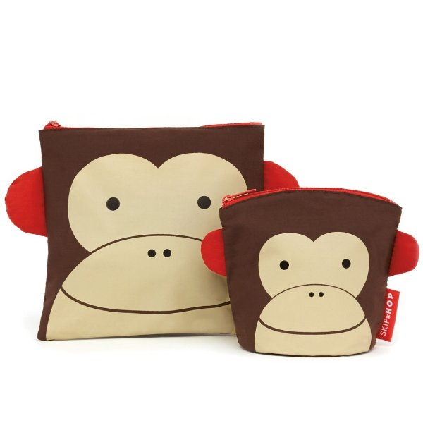 Saquinhos de lanche zoo macaco Skip Hop
