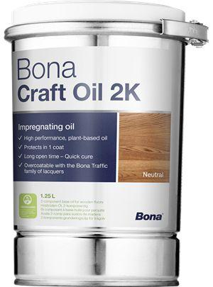 Bona Craft Oil 2K  ASH  1,25L