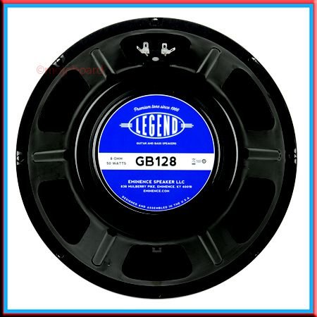 "Alto-falante Eminence 12"" Legend GB128 50 watts 8 Ohms"