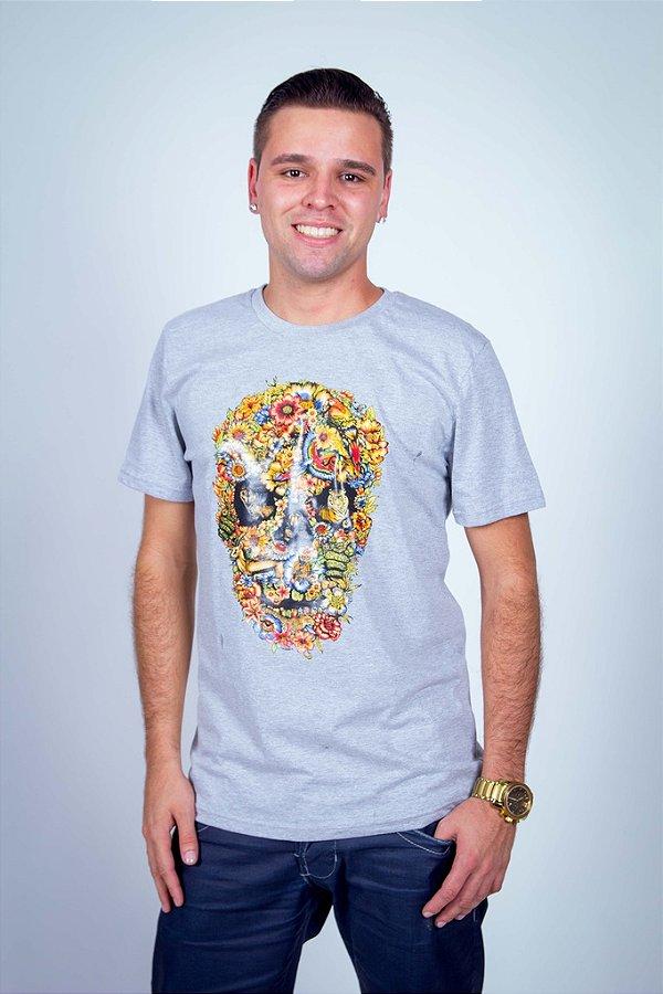 Camiseta Caveira Animal