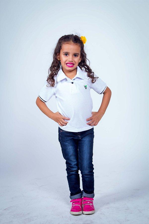 Camisa Polo Infantil Feminina
