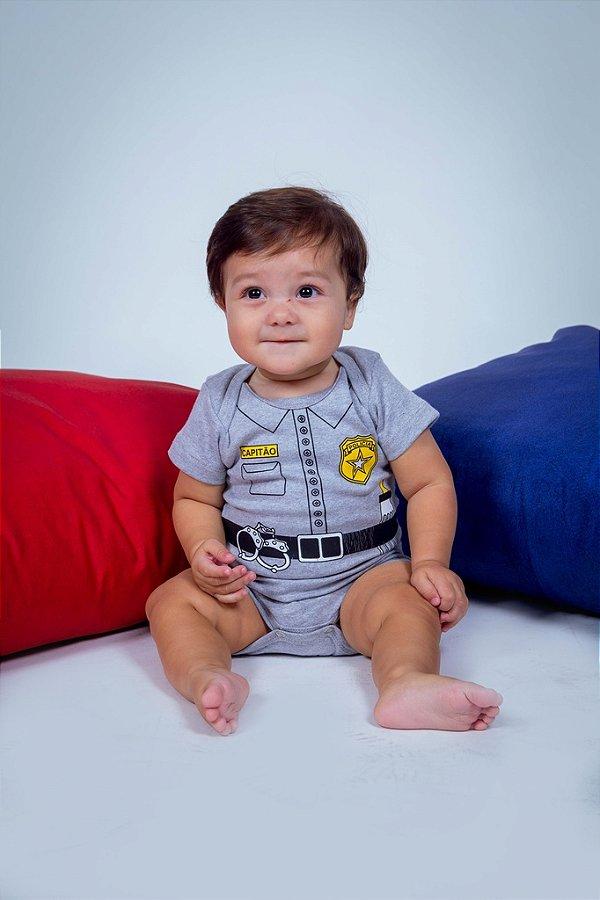 Body Infantil Capitão