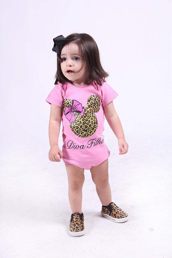 Body Infantil Diva Filha