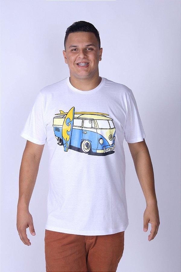 Camiseta Branca Perua