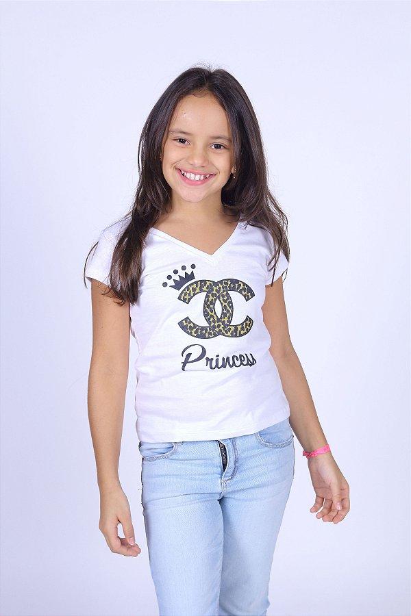 Camiseta Infantil Rainha