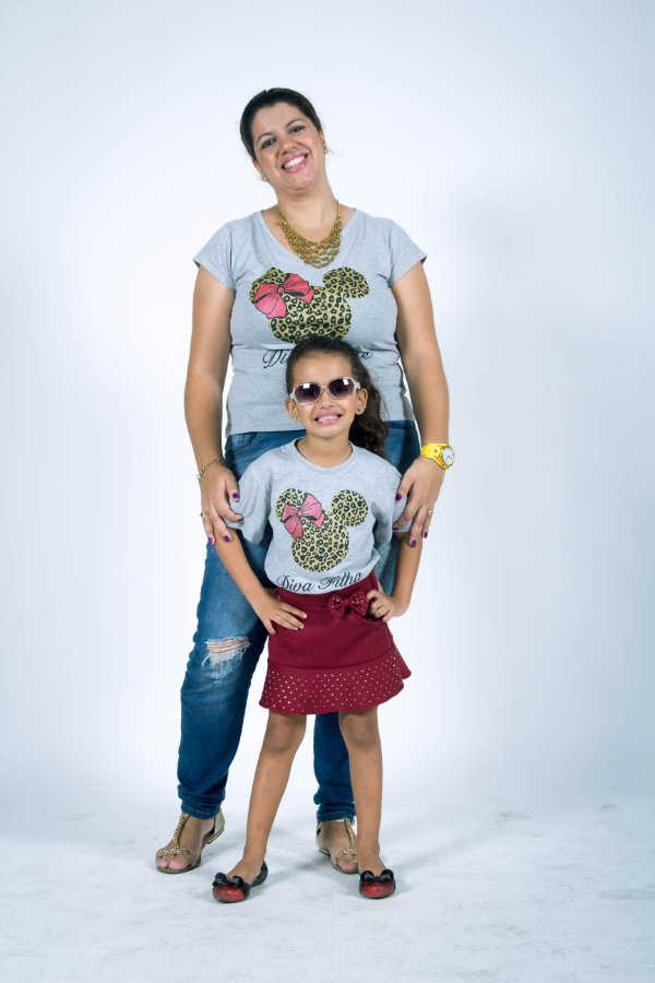 Mãe e Filha > Kit Camisetas Divas [Coleção Tal Mãe Tal Filha]