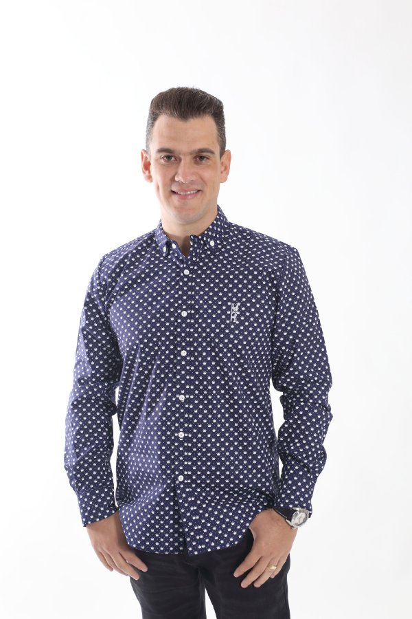 Camisa Social Principe Azul
