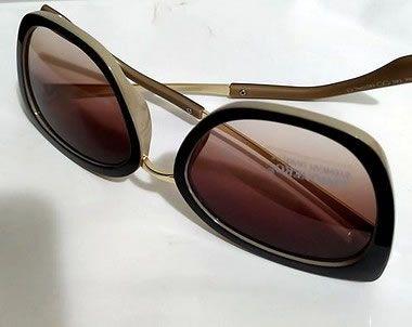 Oculos de Sol  Dual color Bege