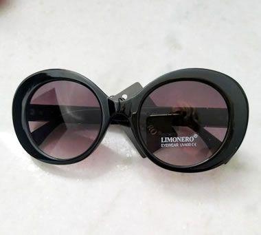 Oculos de Sol  Vintage Preto 0032