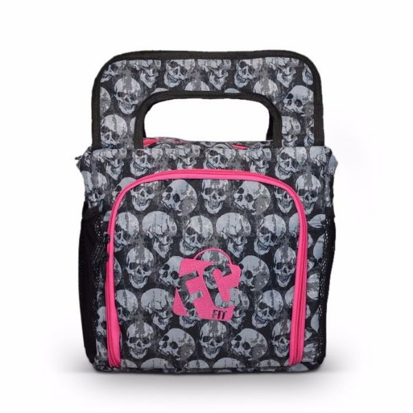 Lunch Bag // Pink Caveira