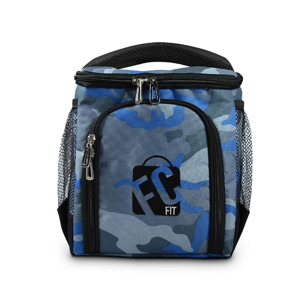 Compacta // Blue Camouflage