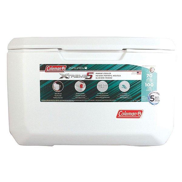 Caixa Térmica Cooler 66 Litros Igloo Marine Contour 70qt