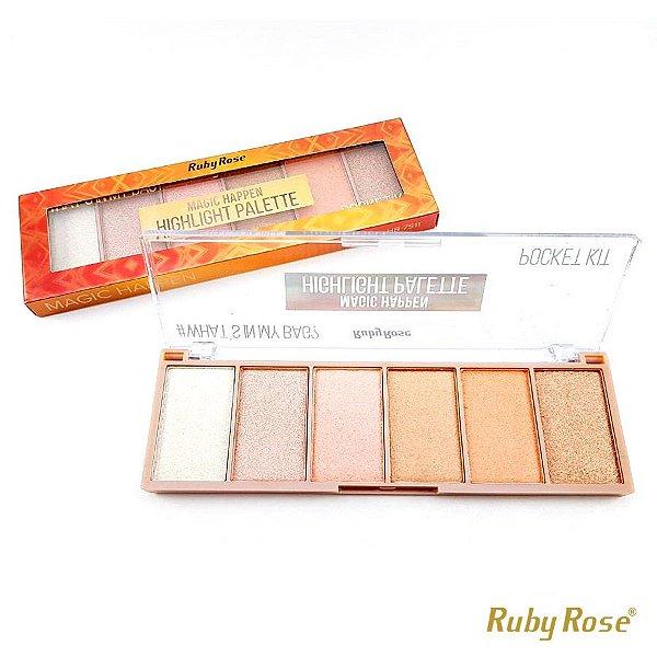 Paleta de Iluminador Magic Happen Ruby Rose - P0169