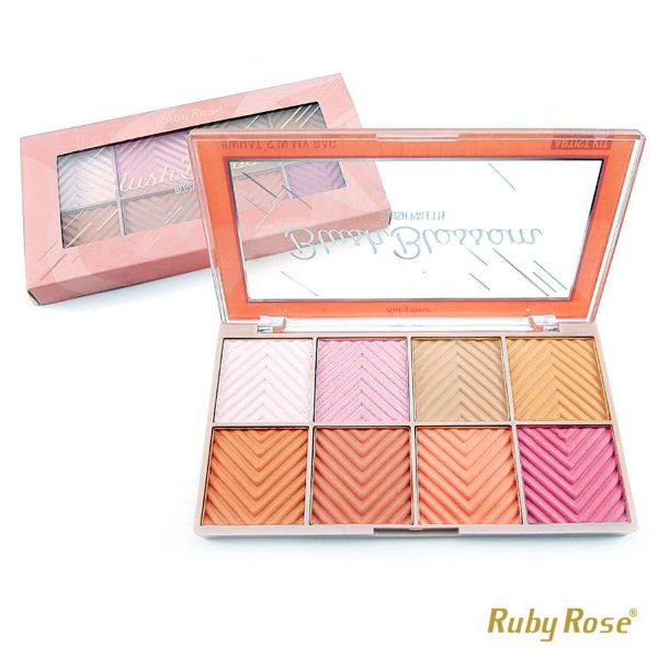 Paleta de Blush Blossom Ruby Rose - P0173