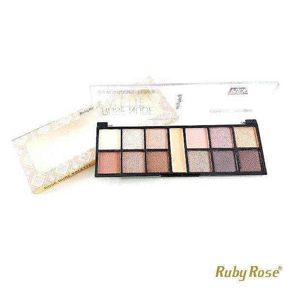 Paleta de Sombra Pocket Rose Nude - P0192