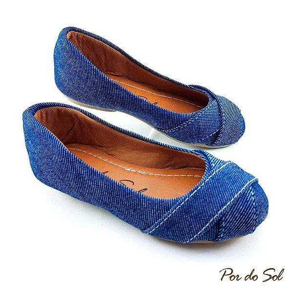 62f2a3074 Sapatilha Jeans Escuro - LalaShoes - Sapatilhas Direto da Fábrica ...