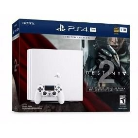 PLAYSTATION 4 PRO 1TB COM DESTINY 2