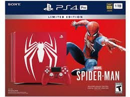 Playstation 4 Pro  1Tb Spiderman