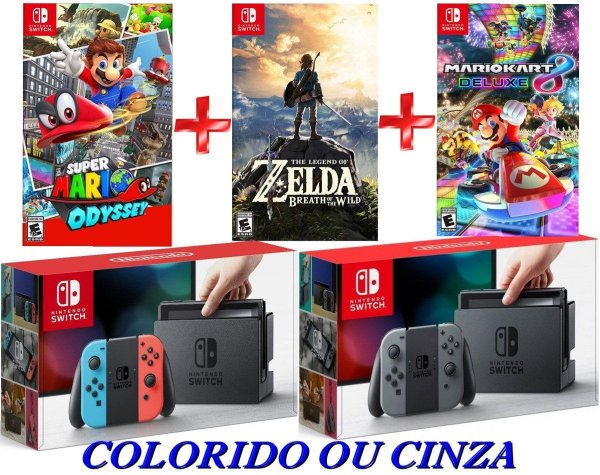 NINTENDO SWITCH 32GB COMBO