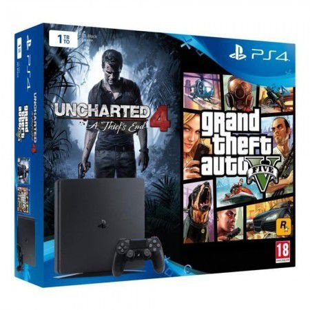 PLAYSTATION 4 1TB BUNDLE 2 GAMES