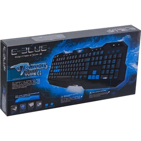 Teclado Gamer Mazer Type-g E-blue Original