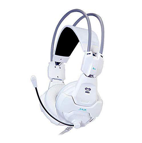 E-blue Headset Gamer Pro Gaming Cobra 926 Shocking EHS926 Branco