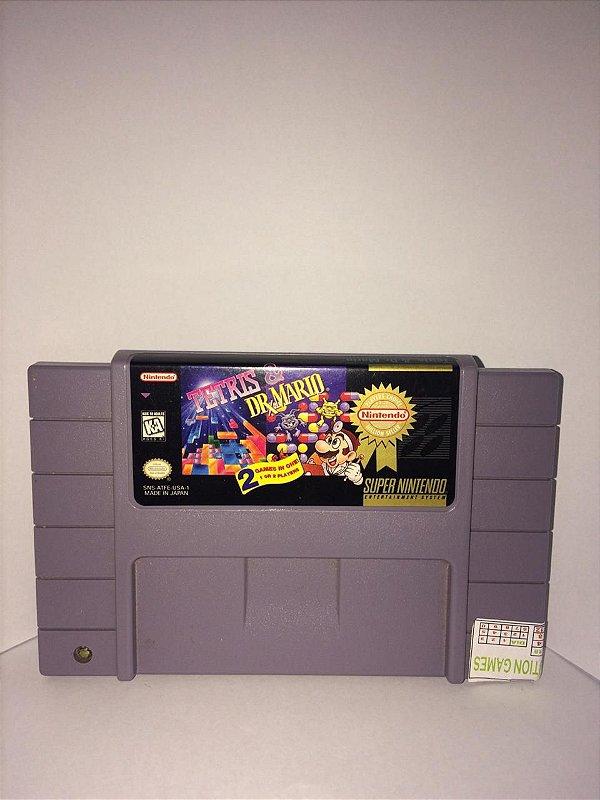 Tetris & Dr. Mario SNES