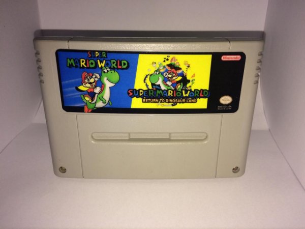 Super Mario World + Return to Dinosaur Land (Repro)