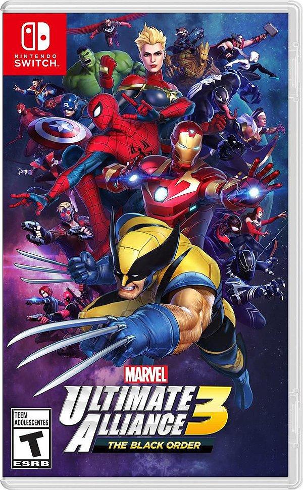 Marvel Ultimate Alliance 3: The Black Order (Pré-venda) - Switch !!!LEIA A DESCRIÇÃO!!!