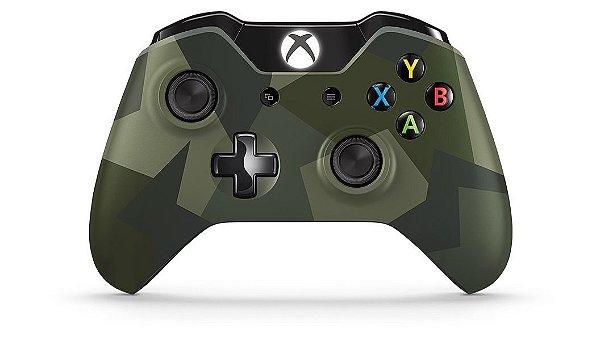 Controle Joystick Para Xbox One Edição Armed Forces