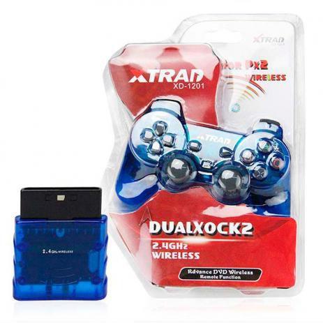 CONTROLE Joystick Play 2 Wireless Sem Fio - XD-1201 - Xtrad