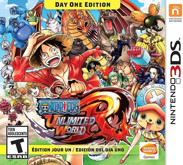 One Piece: Unlimited World Red- 3ds