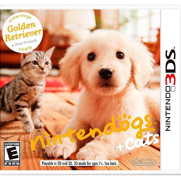 Nintendo Dogs +cats Nintendo 3ds.