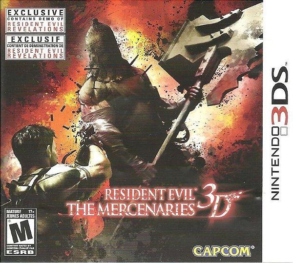 Resident Evil The Mercenaries 3d 3ds