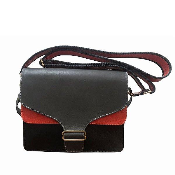 Bolsa de Couro Mini Bag Nina