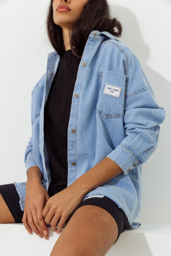 Camisa Jeans Vintage Gabriela