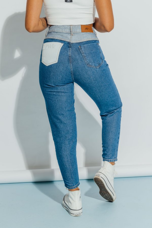 Mom Jeans Patch Mariana