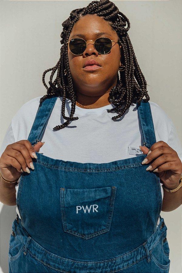 Camiseta Branca GRL PWR | 787