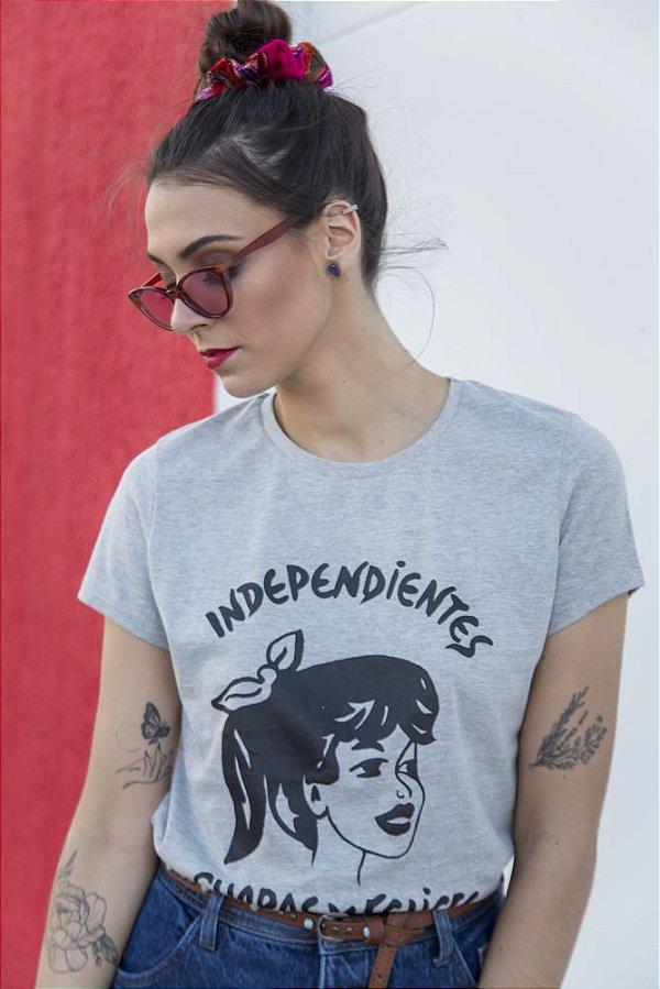 Camiseta Feminina Guapas Mescla