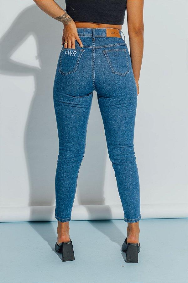 Skinny Jeans com Elastano ELOISA