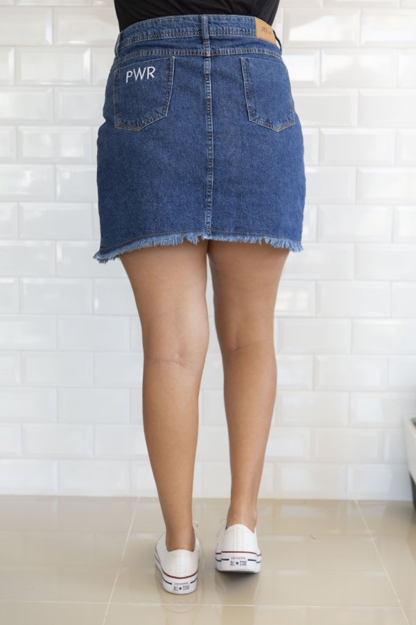 546739135 SAIA Jeans Cintura Alta Daniela - 787 Shirts